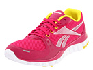 Reebok - RealFlex Transition (Mono/Pink/White/Sun) - Footwear