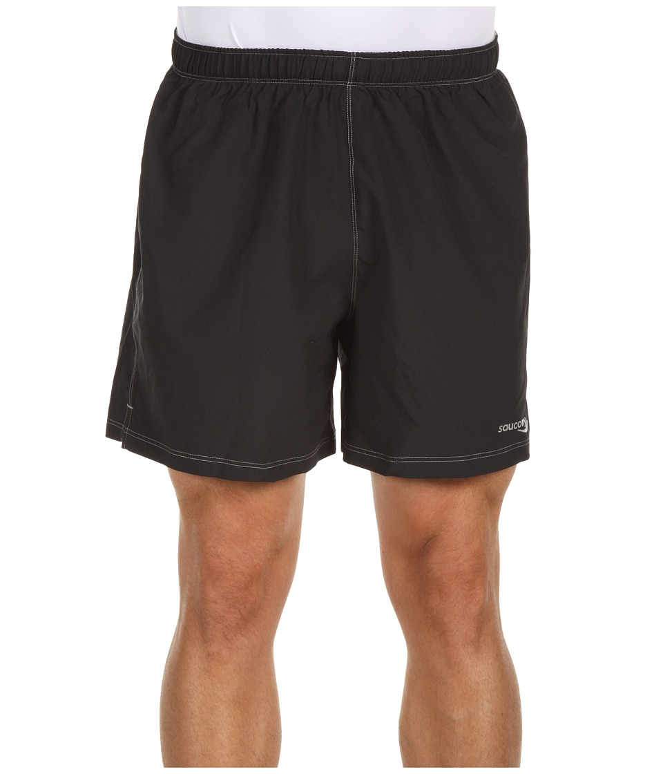 Saucony - Alpha Short '12 (Black) Men's Shorts