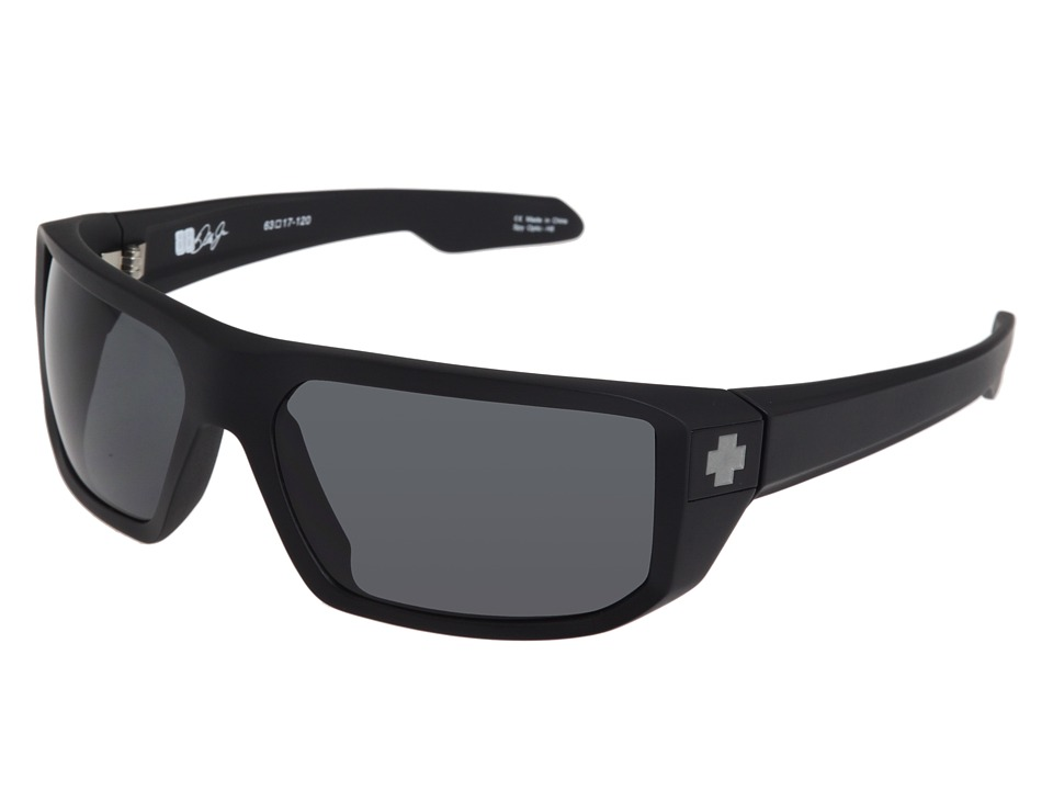 Spy Optic - McCoy (Matte Black/Grey) Sport Sunglasses