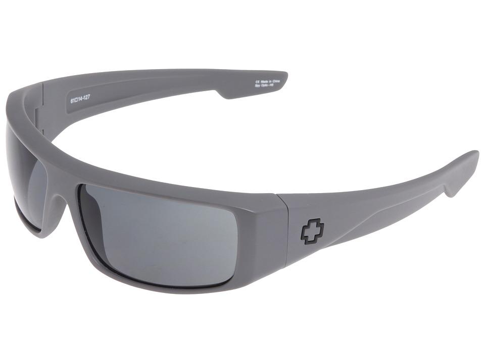 Spy Optic Logan (Primer Grey/Grey) Sport Sunglasses