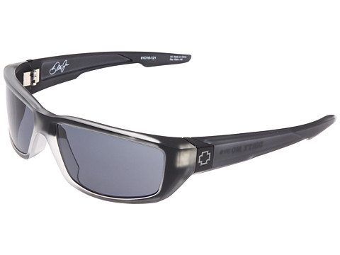 Spy Optic - Dirty Mo (Black Ice/Grey) Sport Sunglasses
