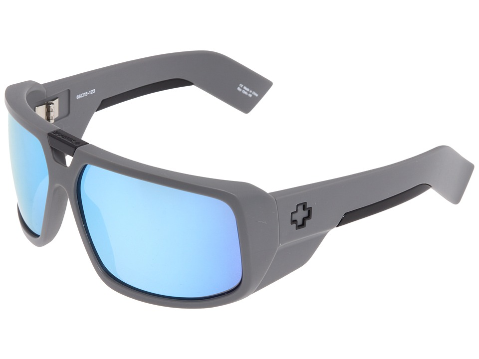 Spy Optic - Touring (Primer Grey/Grey with Blue Spectra) Sport Sunglasses