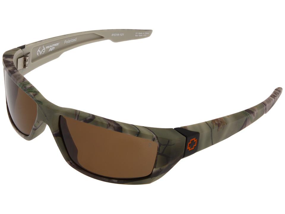 Spy Optic - Dirty Mo Realtree (Realtree/Bronze Polarized) Sport Sunglasses