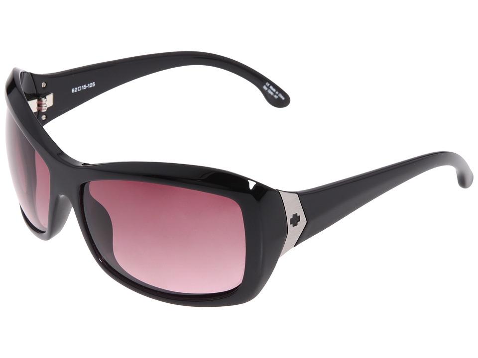 Spy Optic - Farrah (Black/Merlot Fade) Sport Sunglasses