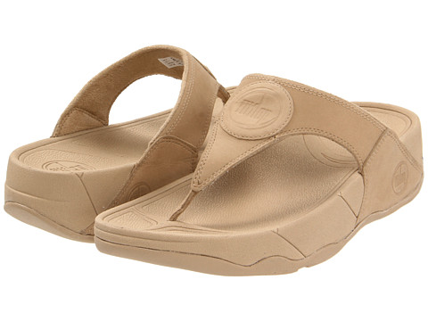 FitFlop WalkStar III Nubuck (Maple Sugar Nubuck) Women's Sandals