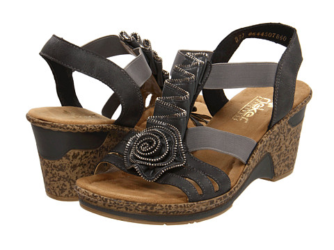 Rieker - 60641 Roberta 41 (Dust) Women's Sandals