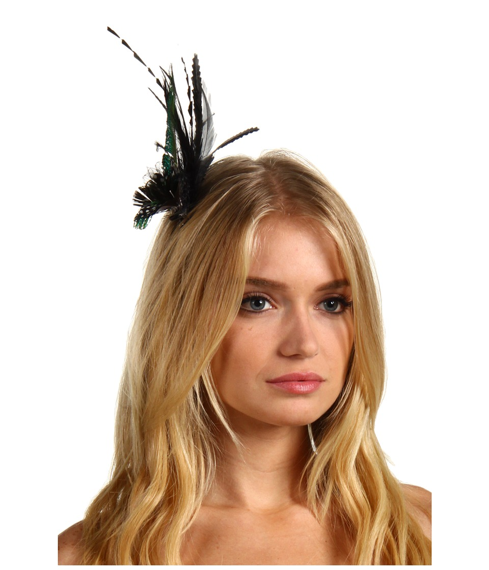 Jane Tran - Peacock Feather Clip (Peacock) Hair Accessories