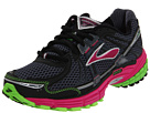 Brooks - Adrenaline GTS 12 (Bright Green/Cactus Flower/Black/Ombre/Blue) - Footwear