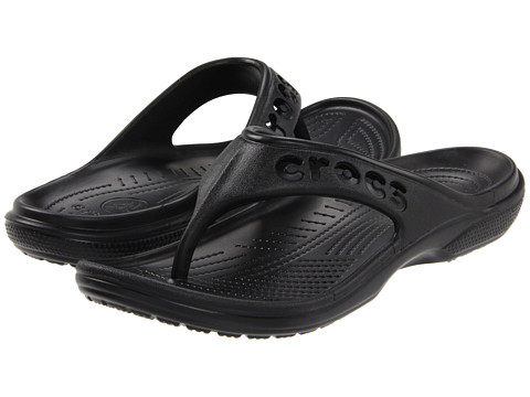Crocs - Baya Flip (Black) Sandals