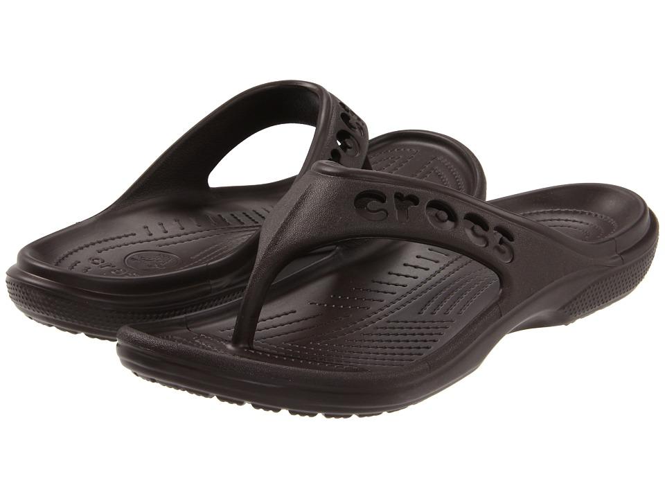Crocs - Baya Flip (Espresso) Sandals