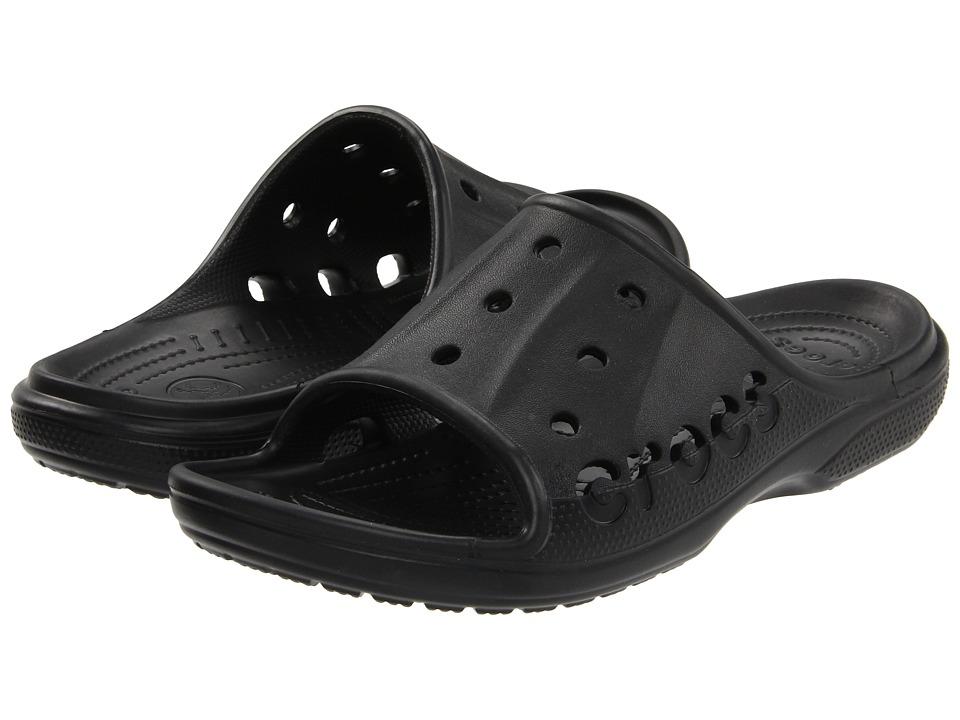 Crocs Baya Slide (Black) Slide Shoes