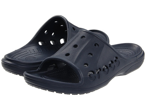 Crocs - Baya Slide (Navy) Slide Shoes