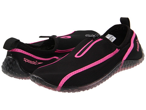 Speedo - Zipwalker (Black/Hot Pink) Women's Shoes