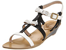 Juicy Couture - Sura (Angel Off White Patent/Black Vacchetta) - Footwear