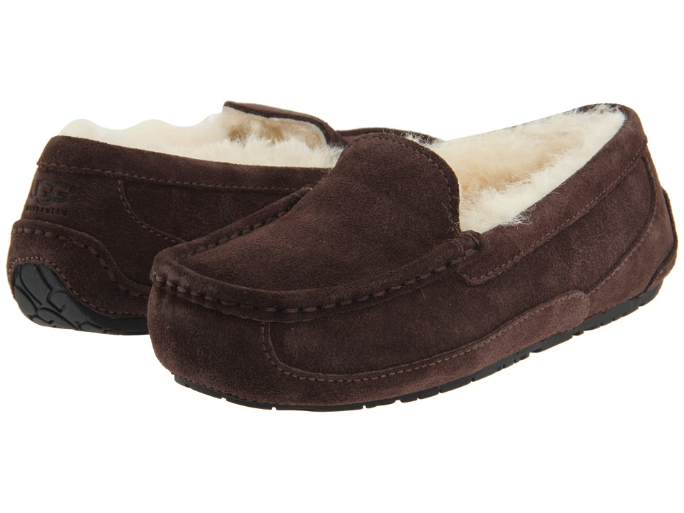UGG Kids - Ascot (Little Kid/Big Kid) (Espresso) Kids Shoes