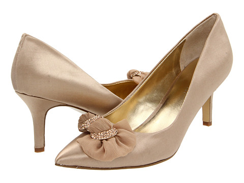 Nine West - Ablast (Light Natural/Light Natural Satin) High Heels