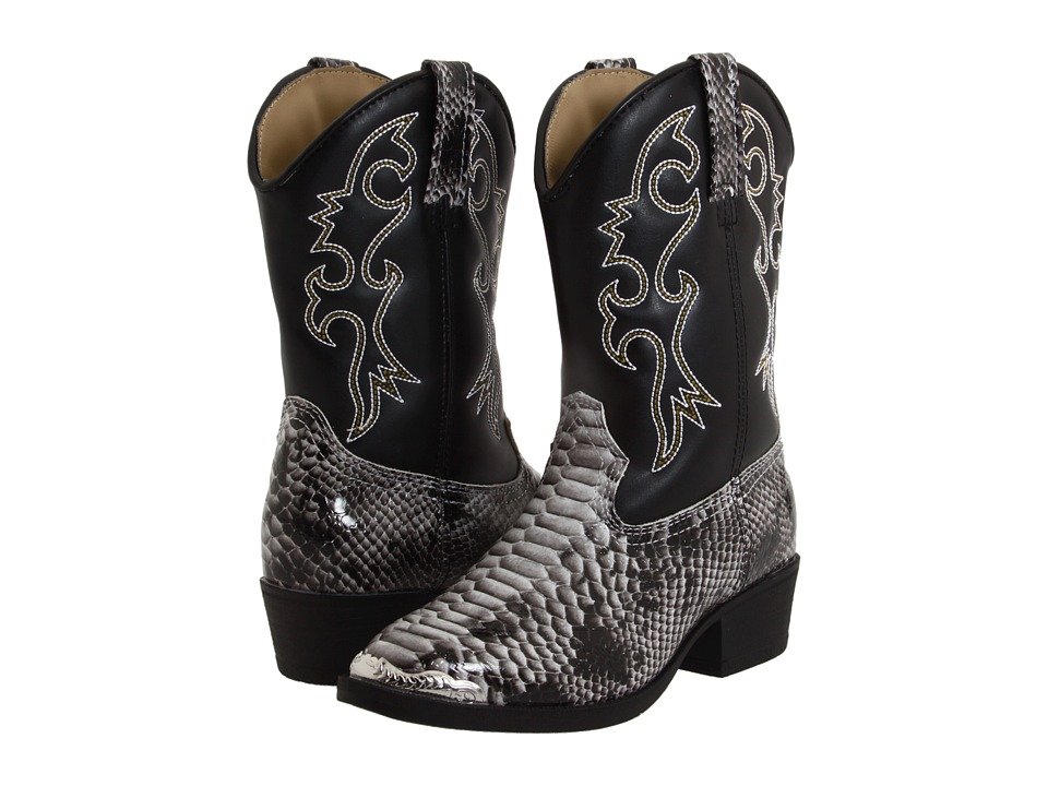 Laredo Kids - Snake Pit (Toddler/Little Kid) (Black) Cowboy Boots