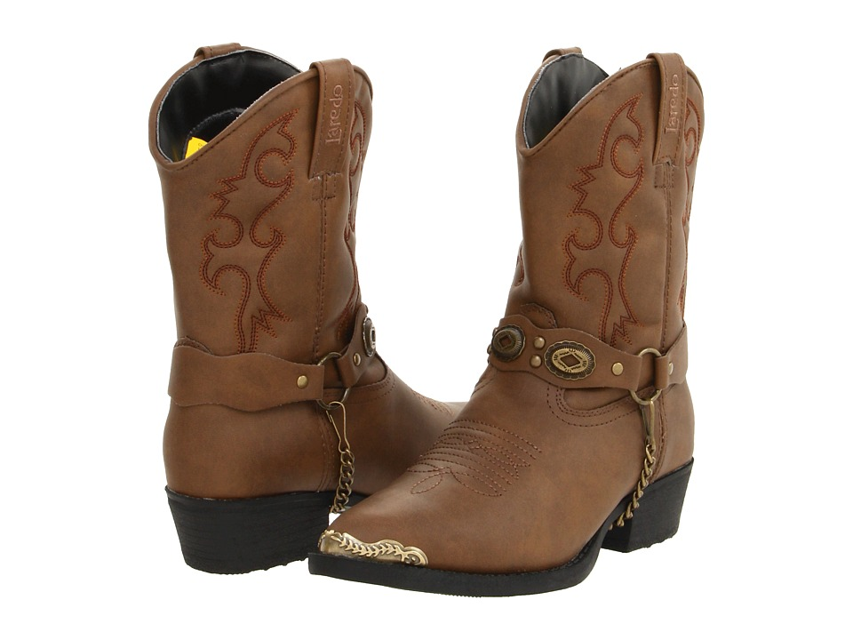 Laredo Kids - Little Concho (Toddler/Little Kid) (Brown) Cowboy Boots