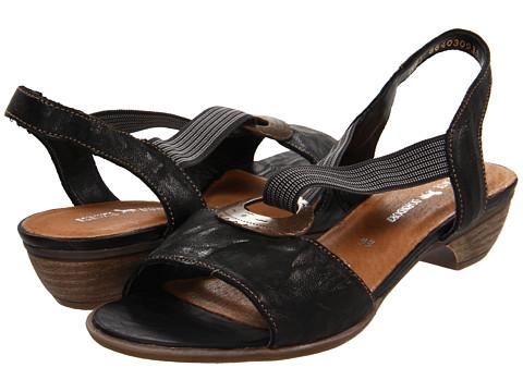 Rieker - R0856 Doreen 56 (Black) Women's Dress Sandals