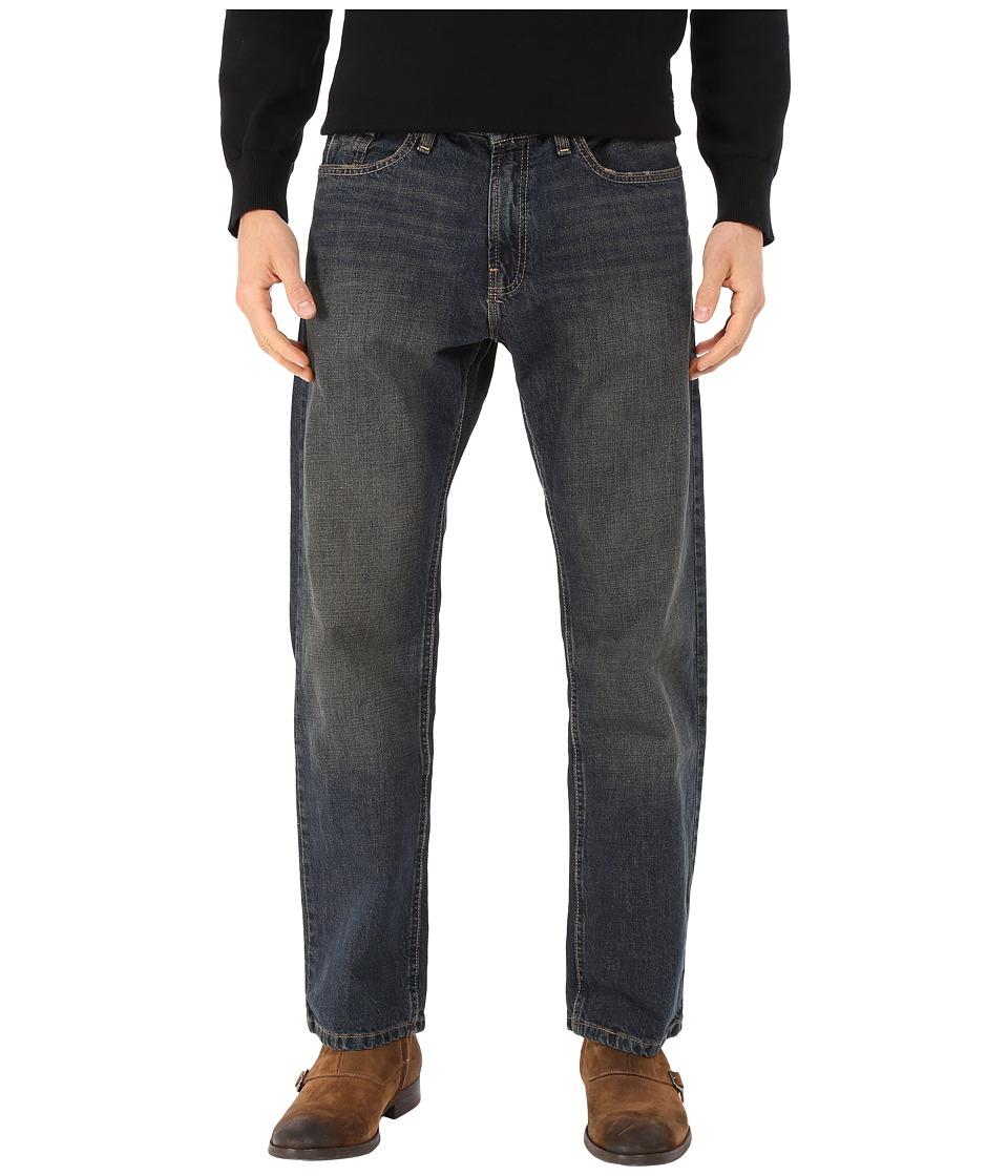 Nautica - Medium Wash Crosshatch Jean in Rigger Blue (Rigger Blue) Men's Jeans