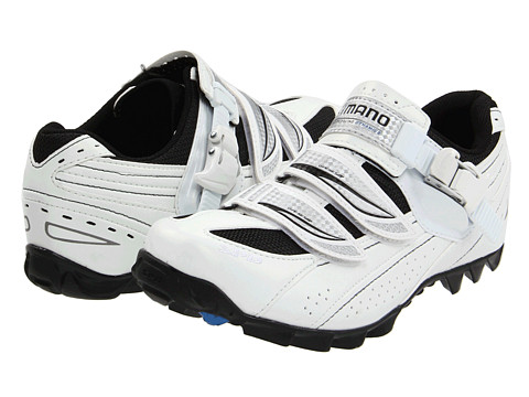 Shimano - SH-WM62 (White/Black) Women's Cycling Shoes