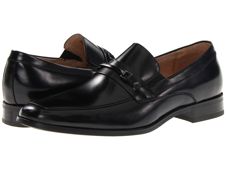 Stacy Adams - Jakob (Black) Men's Slip-on Dress Shoes