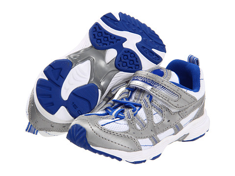 Tsukihoshi Kids - Speed (Toddler/Little Kid) (Blue/Steel) Boys Shoes