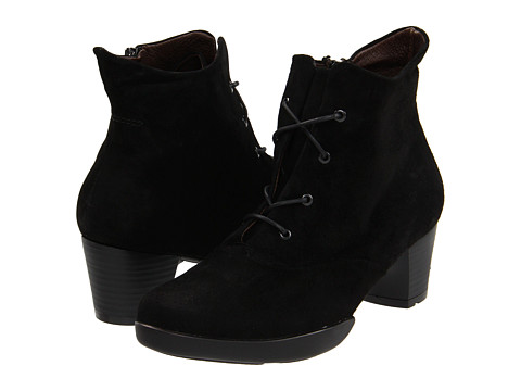Wolky - Cadenza (Black Suede) Women's Boots
