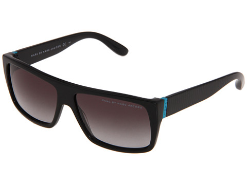 Marc by Marc Jacobs - MMJ 096/N/S (Shiny Black/Grey Gradient) Fashion Sunglasses
