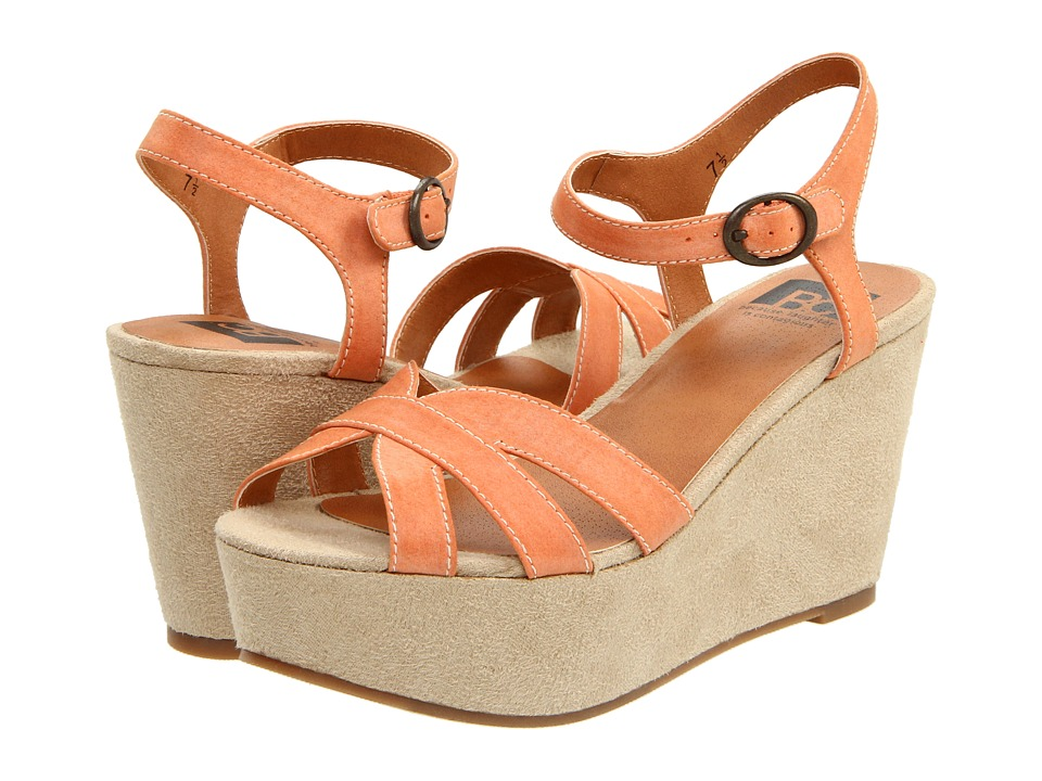 BC Footwear - Scowl (Orange) Women's Dress Sandals