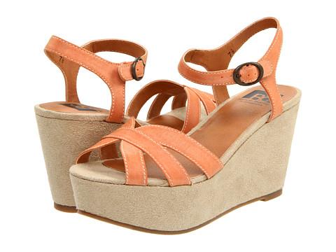 BC Footwear - Scowl (Orange) Women's Dress Sandals