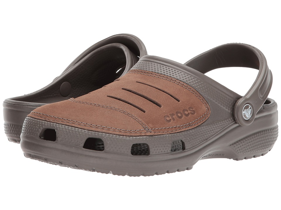 Crocs - Bogota (Chocolate) Men's Clog/Mule Shoes