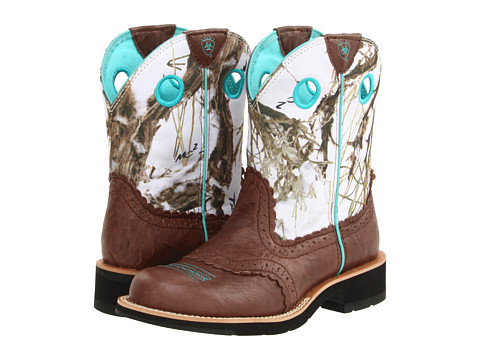 UPC 884849379615 - Ariat Fatbaby Cowgirl (Brown Crinkle/Snowflake ...