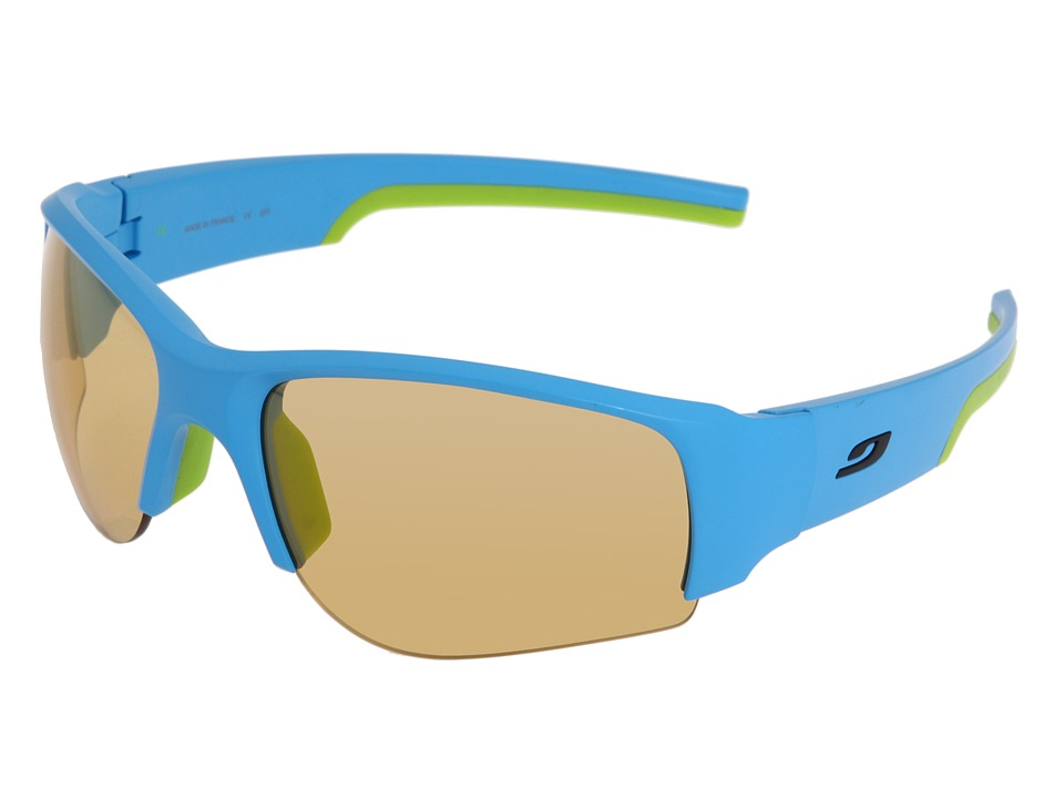 Julbo Eyewear - Dust Performance Sunglass (Blue/Green) Athletic Performance Sport Sunglasses