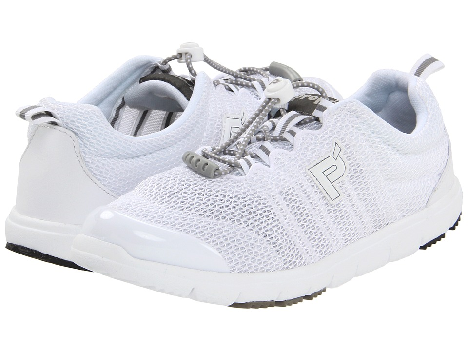Propet - Travel Walker II (White) Women's Lace up casual Shoes