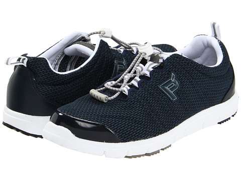 Propet - Travel Walker II (Navy) Women's Lace up casual Shoes