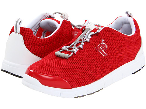 Propet - Travel Walker II (Red) Women's Lace up casual Shoes
