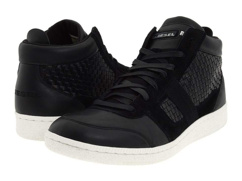 Diesel - Resolution - 12 (Black 2) Men's Lace up casual Shoes