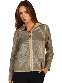 SALE! $199.99 - Save $295 on LOVE Moschino Jacket With Elastic Tape (Beige Black) Apparel - 59.60% OFF $495.00