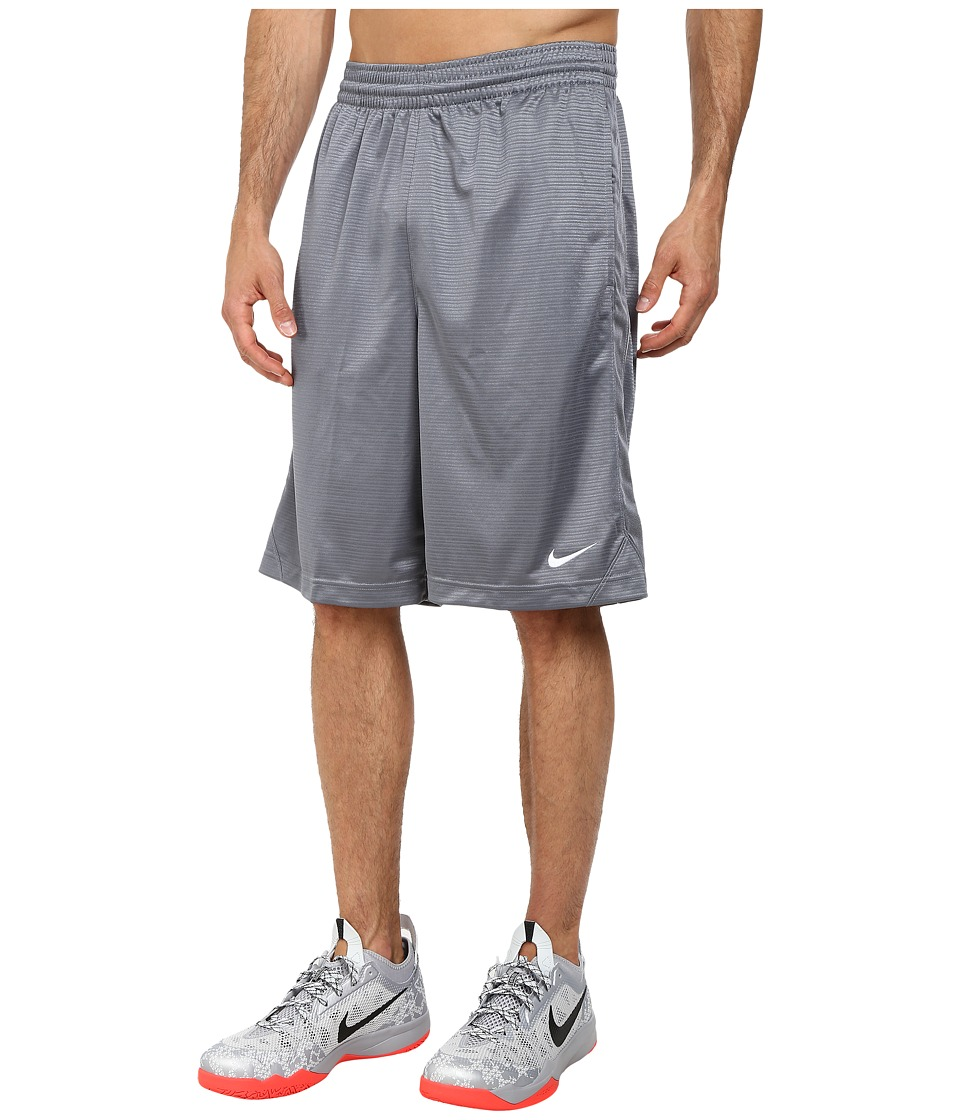 Nike - New Layup Short (Cool Grey/Cool Grey/White/White) Men's Shorts