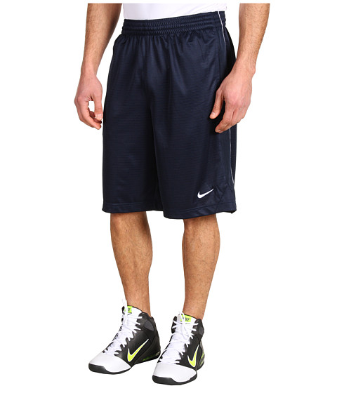 Nike - New Layup Short (Obsidian/Obsidian/White/White) Men