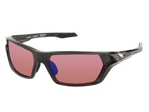 Spy Optic - Quanta (Transluscent Black/Rose/Blue Mirror Lens) Sport Sunglasses