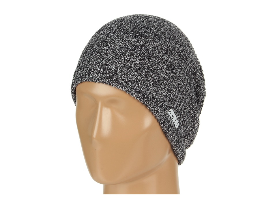 Neff - Daily Heather Beanie (Black/White) Beanies