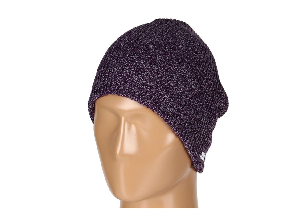 Neff - Daily Heather Beanie (Purple/Grey) Beanies