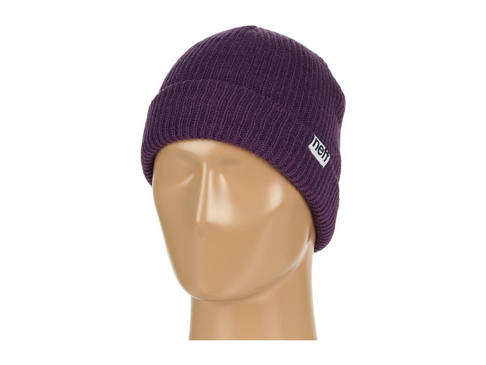 Neff - Fold Beanie (Purple) Beanies
