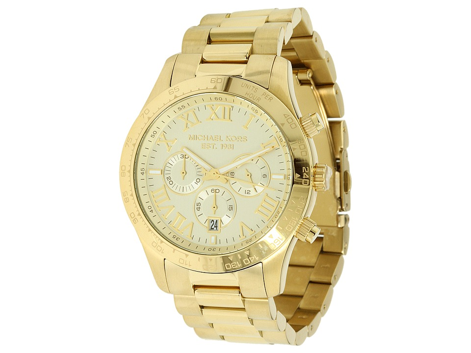 Michael Kors - MK8214 - Layton Chronograph (Gold) Chronograph Watches