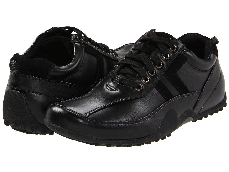 Deer Stags - Donald (Black) Men's Lace up casual Shoes