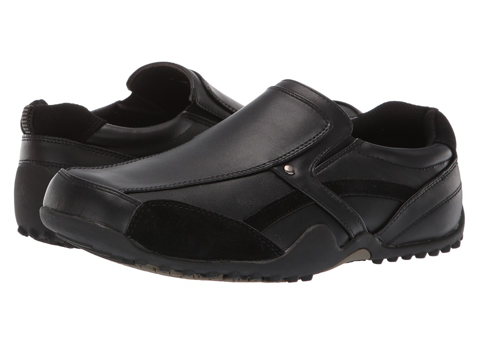Deer Stags - Animal (Black) Men's Slip on Shoes