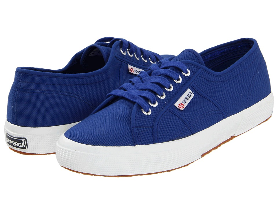 Superga - 2750 COTU Classic (Intense Blue) Lace up casual Shoes