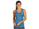 Nike - Essential Knit Tank (Shaded Blue/Matte Silver) - Apparel